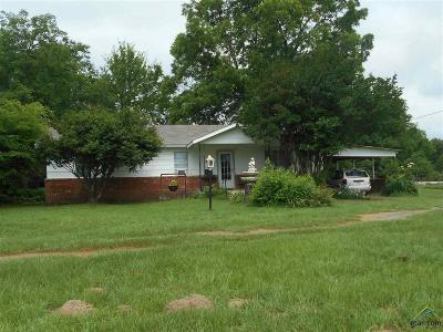 Winnsboro TX Single Family Home For Sale: $149,900