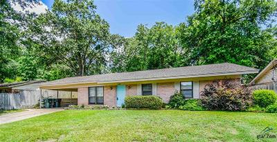 Tyler Single Family Home For Sale: 3000 McDonald Rd.