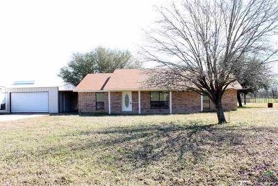 Yantis TX Single Family Home For Sale: $125,000