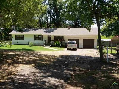 Quitman Single Family Home For Sale: 1750 E Hwy 154