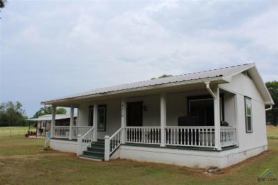 Gilmer Single Family Home For Sale: 4510 Pr 2301