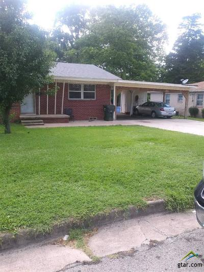 Tyler Single Family Home For Sale: 302 Bandera