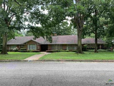 Tyler Single Family Home For Sale: 2025 Montrose Dr