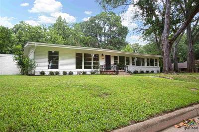 Tyler Single Family Home For Sale: 1508 Westfield