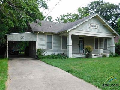 Gilmer Single Family Home For Sale: 509 N Trinity
