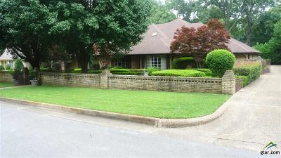 Tyler Single Family Home For Sale: 8236 Columbia