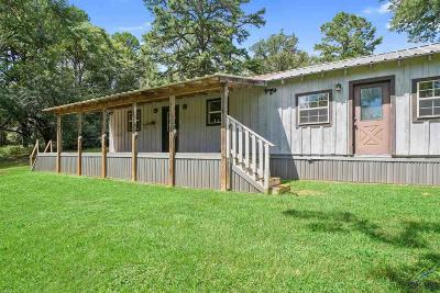 Upshur County Single Family Home For Sale: 4074 Red Cedar Rd