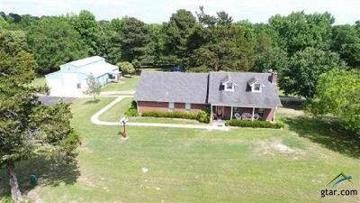 Upshur County Single Family Home For Sale: 568 Pr 1134