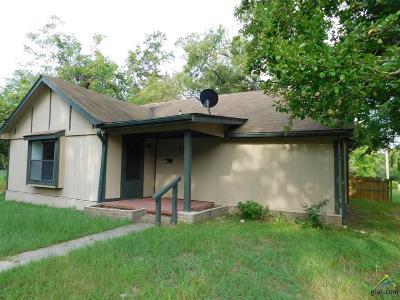 Upshur County Single Family Home For Sale: 719 Butler