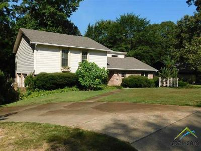 Upshur County Single Family Home For Sale: 1706 Greenway