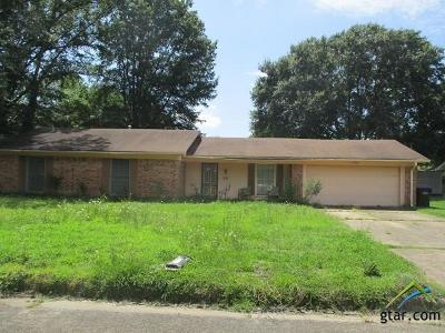 Longview Single Family Home For Sale: 1221 Webster St.
