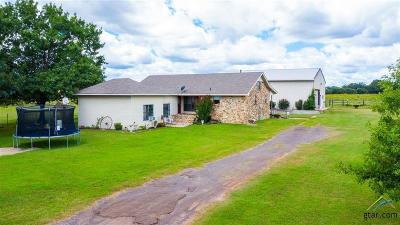 Upshur County Single Family Home For Sale: 2568 Hunter Rd