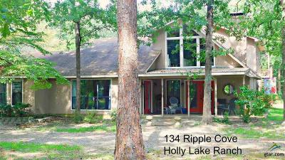 Holly Lake Ranch Single Family Home For Sale: 134 Ripple Cove
