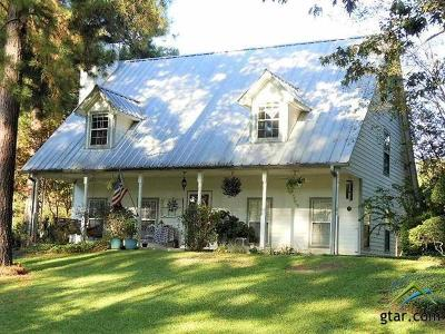 Upshur County Single Family Home For Sale: 8910 Weeping Willow Road