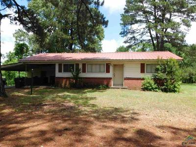 Upshur County Single Family Home For Sale: 8728 Sh 154 W
