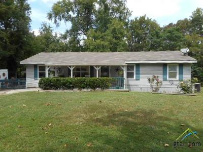 Wood County Single Family Home For Sale: 4203 E Fm 852