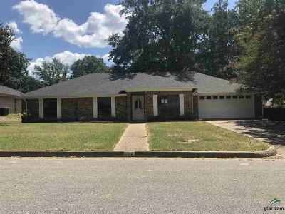 Tyler Single Family Home For Sale: 704 Becky Dr