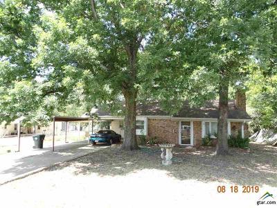 Tyler Single Family Home For Sale: 5109 Steel Road