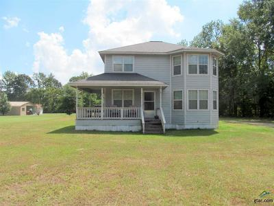 Upshur County Single Family Home For Sale: 11688 Woodchuck Dr
