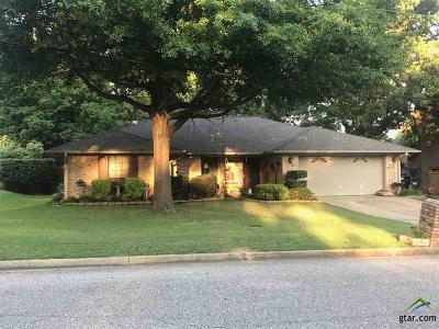 Longview Single Family Home For Sale: 204 Goodnight Trail