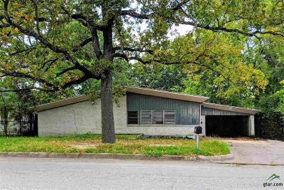 Tyler Single Family Home For Sale: 1016 Forest