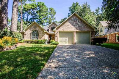 Tyler Single Family Home For Sale: 3726 Long Leaf