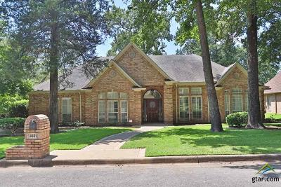 Tyler Single Family Home For Sale: 4831 Barclay Dr.