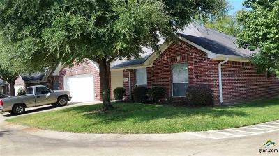 Tyler Single Family Home For Sale: 1521 Rice Road D 104