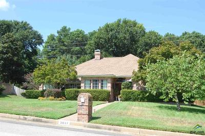 Tyler Single Family Home For Sale: 3837 Lazy Creek