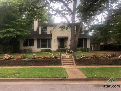 Tyler Single Family Home For Sale: 123 E 2nd