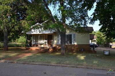 Single Family Home For Sale: 802 N. Johnson
