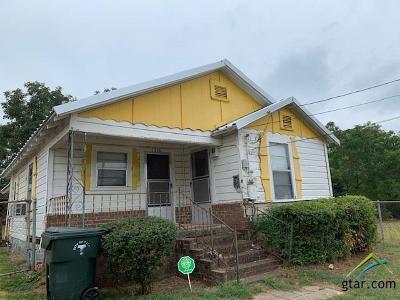 Tyler Single Family Home For Sale: 1316 W Barrett Street