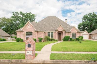 Tyler Single Family Home For Sale: 8417 Castleton Way
