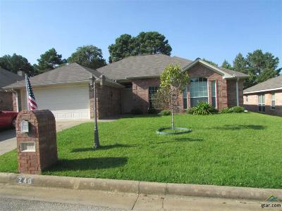 Single Family Home For Sale: 240 Cass Circle
