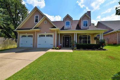 Tyler Single Family Home For Sale: 215 Cambridge Rd
