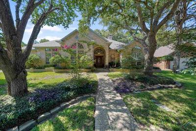 Tyler Single Family Home For Sale: 4111 Lazy Creek Drive