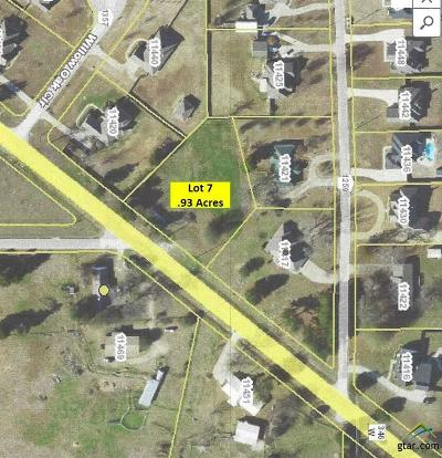Residential Lots & Land For Sale: W Fm 346