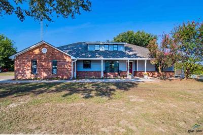 Tyler Single Family Home For Sale: 12231 Fm 724 23.6 Acres