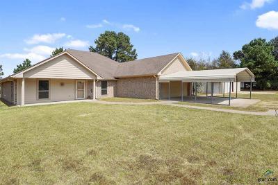 Tyler Single Family Home For Sale: 11802 C R 46