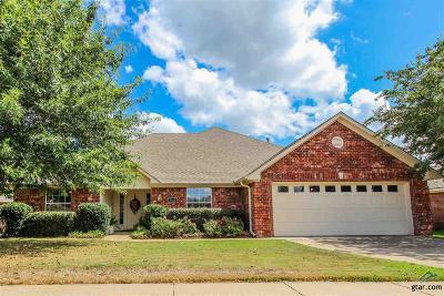 Tyler Single Family Home For Sale: 7344 Manassas