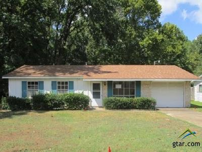 Tyler Single Family Home For Sale: 2210 Cecil