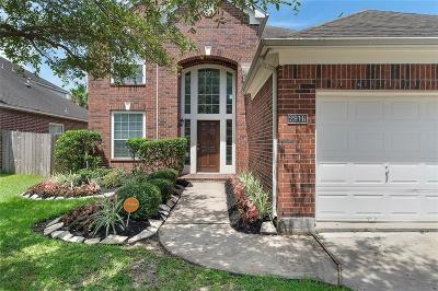 Pearland Single Family Home For Sale: 2916 Emerald Brook Lane