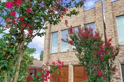Houston Single Family Home For Sale: 1226 Peden Street