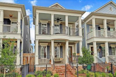 Houston Single Family Home For Sale: 412 Arlington Street