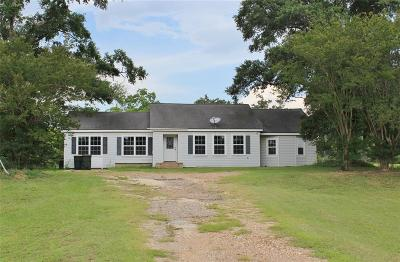 Sealy Single Family Home For Sale: 226 Highway 90 E