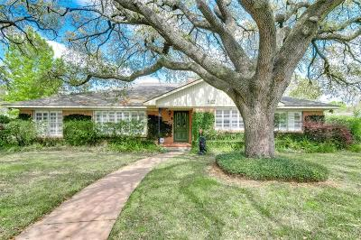Houston Single Family Home For Sale: 5102 Waycross Drive