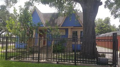 Houston Single Family Home For Sale: 4718 Edison Street