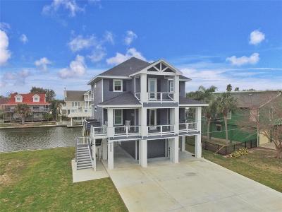 Galveston Single Family Home For Sale: 12728 Conquistador