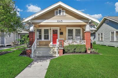 Houston Single Family Home For Sale: 645 E 14th Street