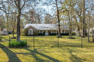 Spring, The Wodlands, Tomball, Cypress Rental For Rent: 4219 W Mossy Oaks Road